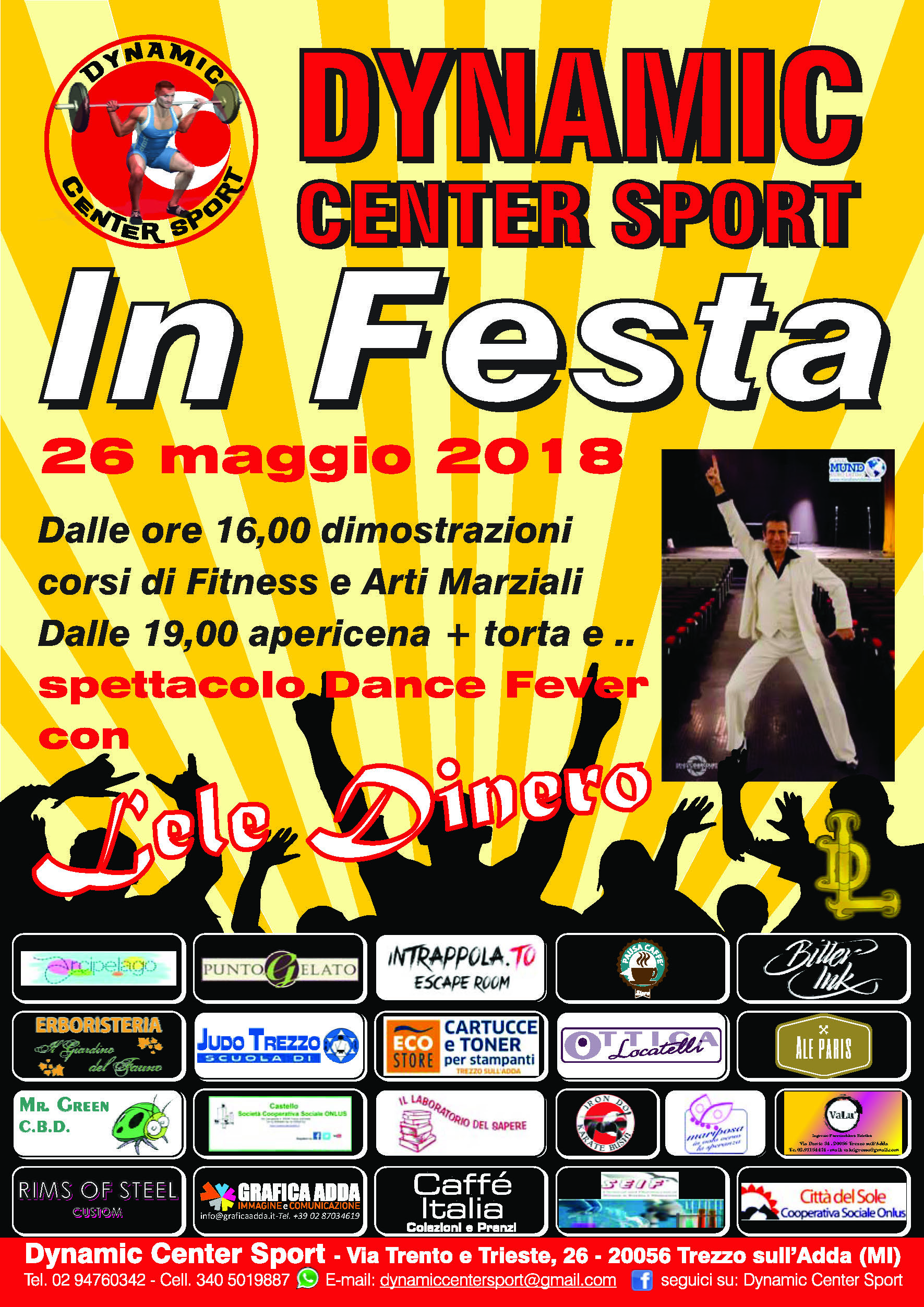 Dynamic Center Sport in festa